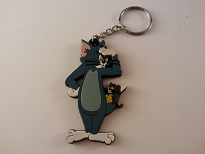 Tom and Jerry Soft Rubber Keychain - FREE SHIPPING!