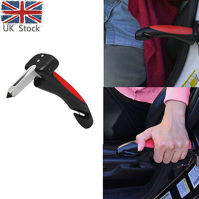Car Cane Mobility Aid Standing Support Portable Grab Bar Auto Flashlight UK
