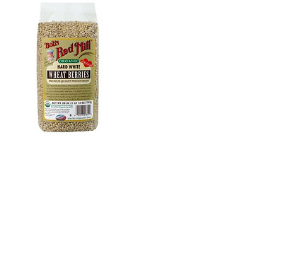 NEW Bob's Red Mill, Organic, Hard White Wheat Berries, 28 oz (793 g)