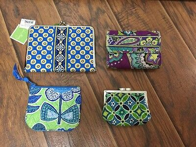 Vera Bradley Accessories Lot Of 4 Walet Coin Purse