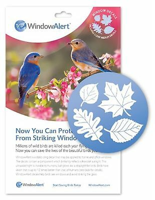 Window Alert Leaf Medley Decal, 5-Pack