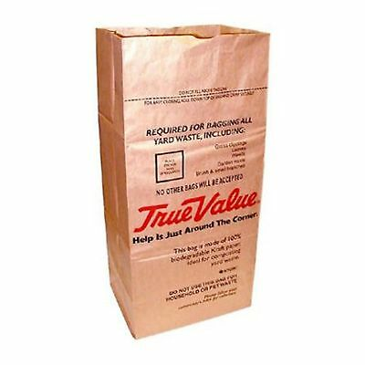 Ampac SOS-30T True Value 30 Gallon Paper Lawn and Leaf Bag, 5 Count