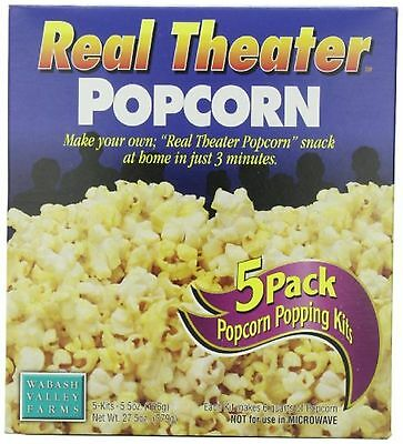 Wabash Valley Farms Popcorn - Real Theater - Original - 5-pack