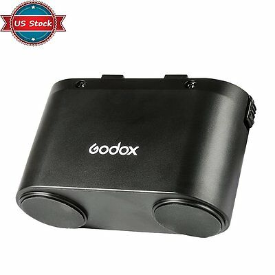 US Godox PB960 5800mAh Speedlite Flash Power Battery for Canon Nikon Sony Camera
