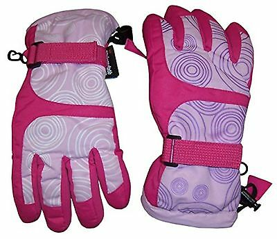 N'Ice Caps Kids Magical Color Changing Thinsulate And Waterproof Ski Gloves (...