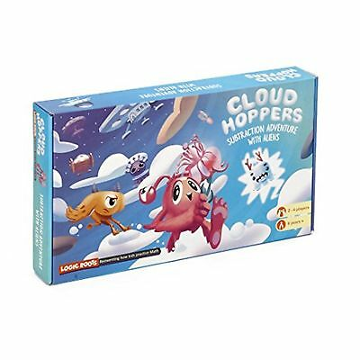 CLOUD HOPPER addition and subtraction board game STEM toy Math manipulative a...