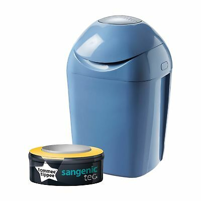 Tommee Tippee Sangenic Tec Nappy Disposal Tub (Green) Green NEW