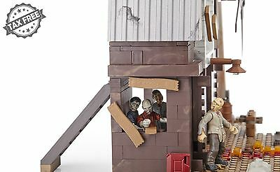 Mega Bloks Call of Duty Zombies Tranzit Walking Dead Set Action Figures Building