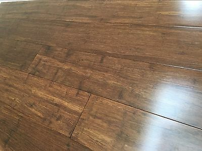 Sample Strand Woven Bamboo Flooring 14mm High Quality Floating Flooring boards