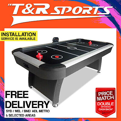7FT Air Hockey Table w/ Score Counter for Game Room Youth