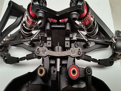 HD Carbon Tuning Steering plate, Ackermann plate for Arrma Typhon Talion Kraton