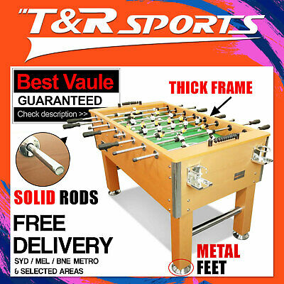 5FT Wooden Soccer Foosball Table Free SYD MEL BNE ADL Metro Post* Free Acc.