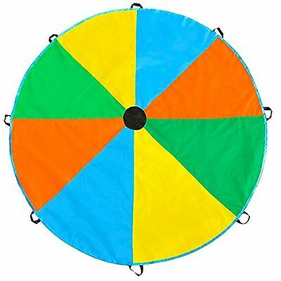 Magicfly Play Parachute Toy with 8 Handles Multicolor Parachute for Kids Play...