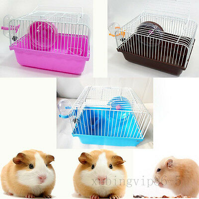 1Tier Storey Fantasy Hamster Cage Castle 370g Small Beautiful Hamster Mouse Cage