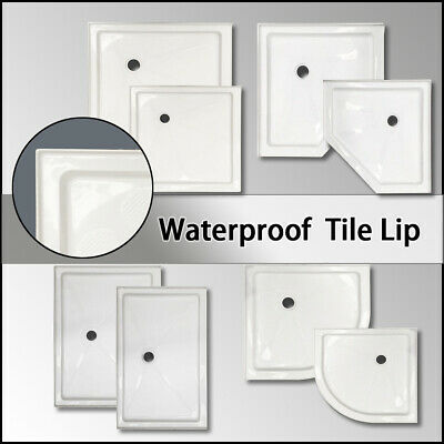 Diamond/Curved/Square/Rectangle Shower Screen Base Waterproof Tile Over Tray