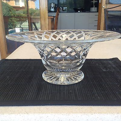 Stunning Large Vintage Crystal Bowl