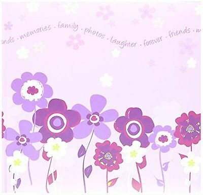 Pioneer Photo Albums 200 Pocket Printed Lavender Blooms Design Photo Album fo...