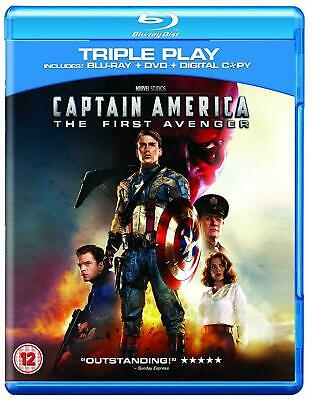 Captain America Part 1 The First Avenger Blu ray UK Release Brand New Sealed R2