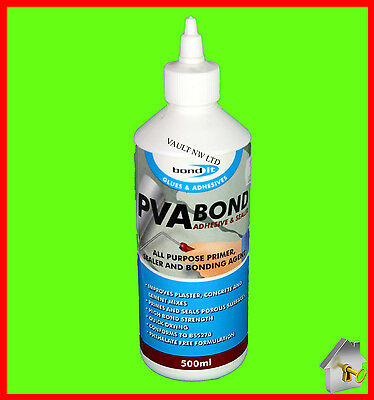 PVA Bond Wood Adhesive Glue Bond It Sealant 500ml Bonding Agent