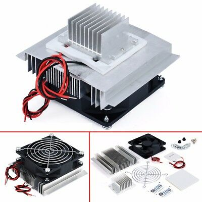 DC 12V Peltier Semiconductor Refrigeration Air Conditioner System Cooler Kit