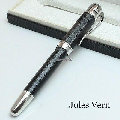 Jules Verne Pen Luxury Rollerball Pen Ocean Black