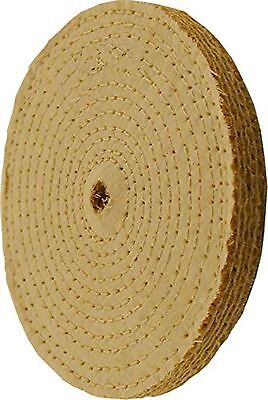 Enkay 158-SC 8-Inch Sisal Buffing Wheel, Carded