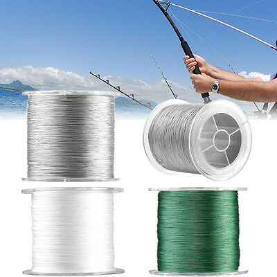 Portable 8 Strands 300m 500m 22LB-200LB Safety Braid Fishing Line Cord Tackle SS