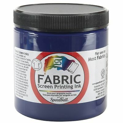 Speedball Art Products Fabric Screen Printing Ink, 8 oz, Violet