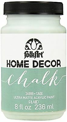 FolkArt Home Decor Chalk Furniture & Craft Paint in Assorted Colors 8 oz ...
