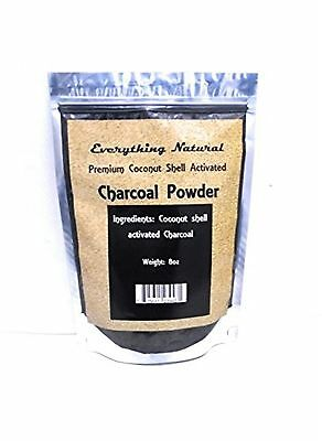 Coconut Activated Charcoal Powder Large 8 Oz. Ultra Fine . Food Grade Natural...
