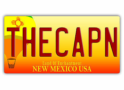 THE CAPN Licence Plate - Metal Wall Sign Plaque Art - Jesse Call Better Saul