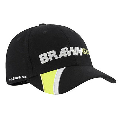Brawn GP F1 Formula One Grand Prix Henri Lloyd black Baseball Cap OSFA