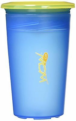 Wow Cup Juicy 360 Spill-Free Cup with Freshness Lid Included, Blue, 9oz