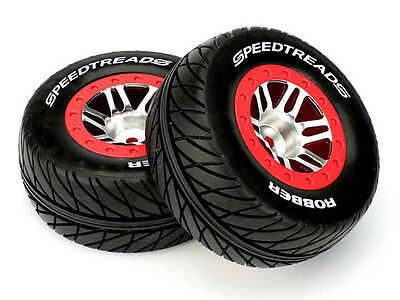 Dynamite Traxxas Slash Mounted Speedtreads Robber Front Tyres (2) #DYN5122