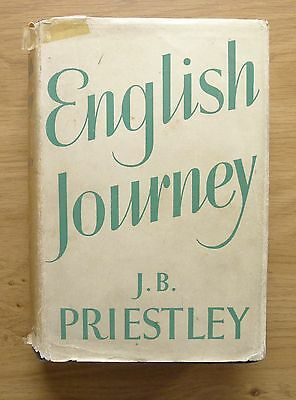 English Journey by J. B. Priestley First Edition Hardback Book 1934