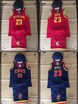 NBA KIDS CAV JAMES  SETS NAVY COLOR (Express post)