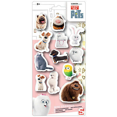 24 x Wholesale Joblot Pets Kids Erasers Stationery School Party Bags Filler