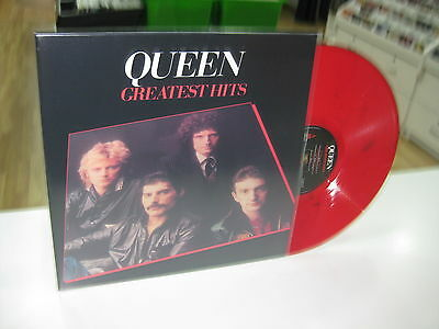 Queen Lp Greatest Hits Red Vinyl
