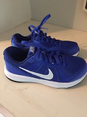 New Nike Size 10.5 Youth Toddler Boys Blue Shoes 10 1/2