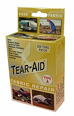 Tear-Aid Repair Patches Type A Fabric Kit, Gold