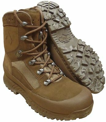 British Army - Haix Combat Desert Brown Boots - 8W + 11W - New In Box - Limited