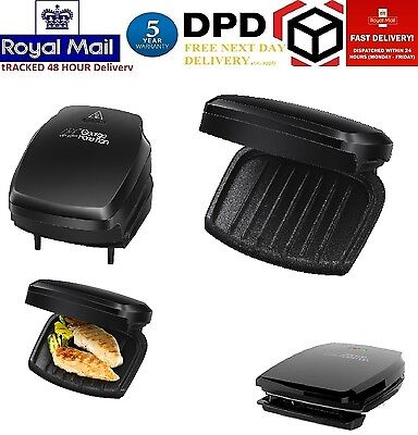 BRANDNEWGeorge Foreman Electric Grill / Grilling Machine - 3 Portion Black 23410
