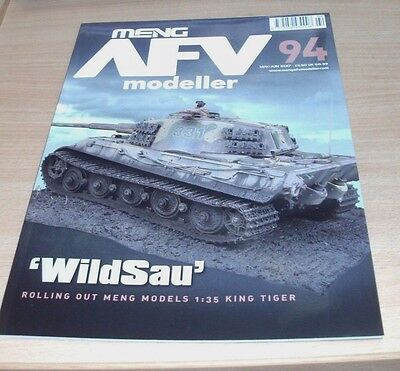Meng AFV Modeller magazine #94 MAY/JUN 2017 1:35 King Tiger