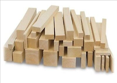 300mm Balsa Wood Strips. Models, Crafts. Various Thickness/Widths