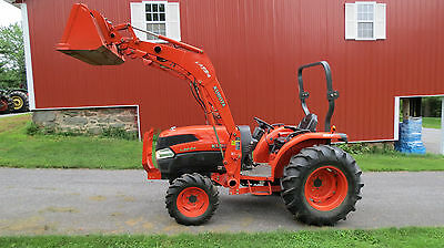 2007 Kubota Grand L3940 4X4 Compact Utility Tractor W/ Loader Hydro 1150 Hours