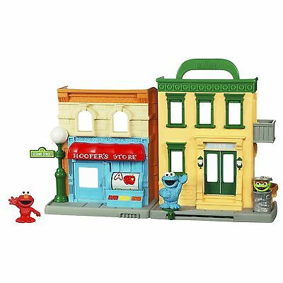 Playskool Sesame Street Playset Store And Go Portable Playset With 2 Figures