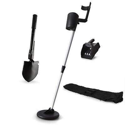 Beginner Waterproof Precious Metal Detector Finder Set Compass Shovel Sieve Bag