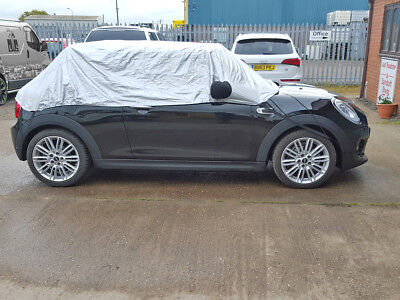 BMW Mini (Gen 3) F57 3 Door Convertible 2016-onwards Half Size Car Cover