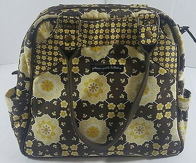 Petunia Pickle Bottom Diaper Bag Satchel Backpack Blissful Buttercup Boxy Floral