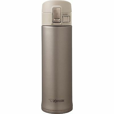 Zojirushi 450ml Travel Mug Stainless Steel Vacuum Insulated Champagne Gold